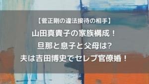 山田真貴子の家族は旦那と息子で父母は?夫は吉田博史で官僚婚